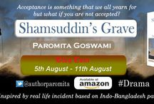 Shamsuddin's Grave by Paromita Goswami / The Reviews and all the details of the blog tour of Shamsuddin's Grave by Paromita Goswami