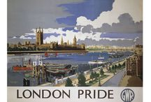 London / Some of our favourite posters from the English Capital- London!