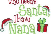 CHRISTMAS BUSY NEEDLES