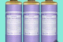 Dr. Bronner's / Dr. Bronner's Anwendungsmöglichkeiten Uses Recipes