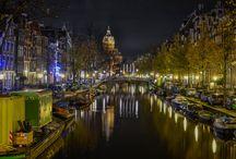Amsterdam at night / by Jo Dejonckheere