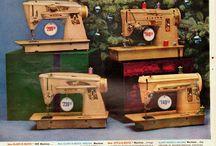 Symaskiner fra alle tider :)
