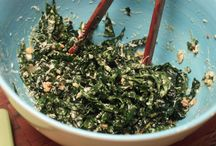 CSA recipes - Kale & Other Greens