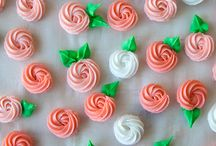 DIY Edible Decorations / Homemade edible cake decorations. DIY royal icing decorations, coloring sanding sugar and more.