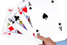 Giant Playing Cards / Giant playing cards are a real favorite with magicians and performers.