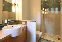 Bathrooms / Tile & Stone installation ideas for home bathrooms