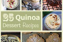 Quinoa desserts