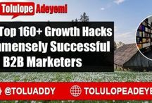 2016 Top 160+ #GrowthHacks of Immensely Successful #B2B...