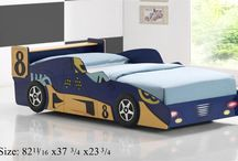 Kid's Car Beds / Colorful Kid's Car Beds Perfect for Little Boys and Girls.