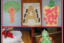 VPK letter A / by Heather Poad White