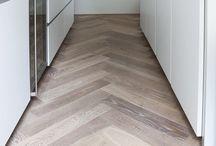 Great herringbone floor