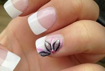 **Frrreenchy NAIL ART design....** / Adorableee FRANCE! ***