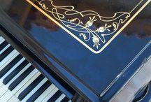 Handmade Piano and Laterna (Barrel piano) Workshop / Piano Workshop in Greece