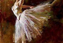 peinture / danse