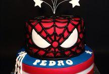 captain america/spiderman