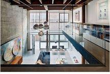 Industrial Contemporary Interior