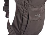 Onya Baby Collection / Award winning soft structured carriers which help keeping up the active lifestyle of modern parents.