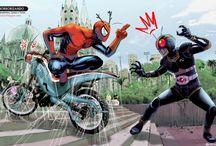 tokusatsu vs superheroes