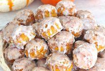 Pumpkin deserts
