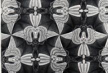 Escher / Ilustrações do Escher e suas aplicações