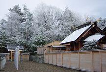 Winter / 龍神総宮社の冬の景色です。