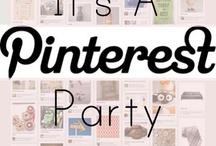 Pinterest Party - Yeaaaaaah :-))) / Kommt alle zu meiner Pinterest-Party und bringt was mit! Jeden Abend ab 21 Uhr :-)