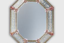 Venetian Mirrors / Best selection of Venetian Glass Mirrors Made In Venice With Murano Glass Online at SogniDiCristallo.it