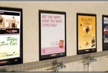 restroom advertising / by Menno Slot