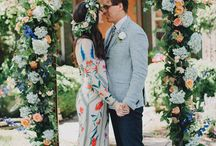 """BOHEMIAN BRIDE / For the unique bohemian bride who wants her wedding to reflect her personality, her love of color and flowers, her free spirit. Her style is """"boho chic""""; she embraces her differences and wants to have a wedding day no one will forget."""
