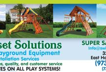 About Us / Premium cedar swingsets - sales, service, installation. Call or visit us, ask questions, get information .... let's talk swingsets!