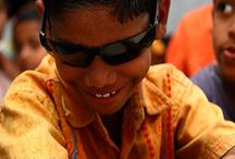 Innocence / In India, only 5% blind children enjoy education. We need a more holistic approach here to bring the light of knowledge to the lives of the visually impaired.