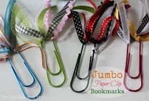 Bookmarks / I am always marking pages in craft books. / by Kathy Skaggs