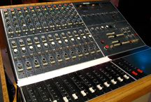 Vintage Mixing Consoles