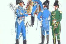État major maréchaux généraux colonels