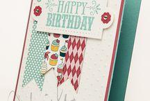 Created cards.....birthday / by Rhonda Potts
