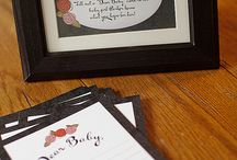 baby shower ideas / by Lindsay Williamson