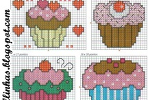 cupcake cross stich