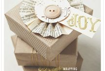 Wrapping Ideas / That's a wrap, frugal ideas to wrap gifts. / by Magazine Your Home