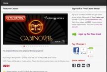 Free casino moola / by Vanessa Curbly