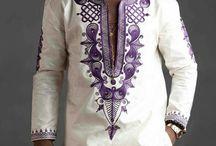 Men's african print
