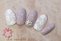 manicures purple