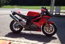 Aprilia RSV / Motor, utazás