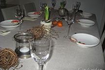 Borddekking / Table settings