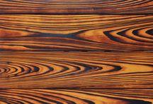 Opalované dřevo