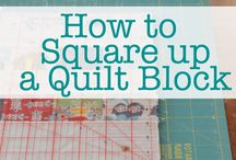 how to square up a quilt