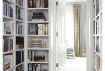 Reading nook/library