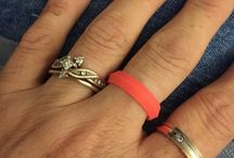 Fans of Knot Theory Silicone Wedding Rings / Silicone wedding rings