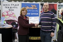 Dog Friendly Exhibitions / Pictures from our stand at shows across the country