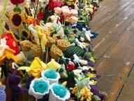 ideas for crochet garden