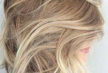 Blonde creative hair colours